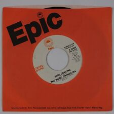 THE BIDDU ORCHESTRA: Soul Coaxing USA EPIC Funk Disco 45 NM- Promo