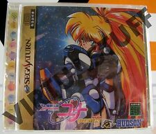 Galaxy Fraulein Yuna Remix, Saturn, NTSC, JAPAN MARKET, completo, factory sealed