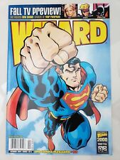 WIZARD Comics Magazine #98 OCTOBER 1999 SUPERMAN COVER by ED McGUINNESS!