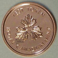 2004 Canada 1 Cent Test Token
