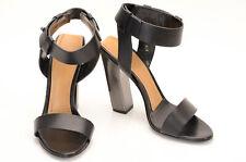 Tom Ford black L9 R8.5 open toe ankle strap sandal shoe NEW $1290 MISMATCH