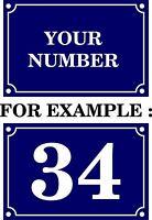 aufkleber sticker wand hausnummer anzahl zuhause portal briefkasten