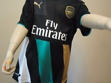ARSENAL OFFICIAL LICENSED 3RD CUP JERSEY BOYS LARGE 15/16 NEW