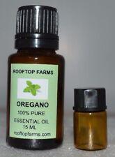 Oregano Oil Undiluted Therapeutic Rooftop Farms 100% pure essential oil