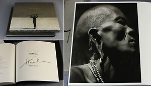 1994 Herb Ritts AFRICA photography limited edition SIGNED deluxe with slipcase