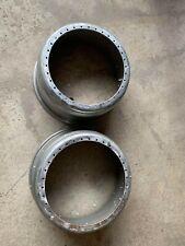 PAIR OF BBS RS 17x8 34 Hole Inner Barrel Split Wheel