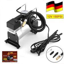 12V 150PSI Auto Luftkompressor Luftpumpe Reifen Kompressor 35L/Min + 3 Adapter