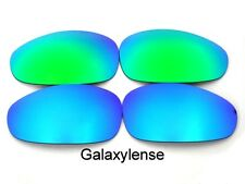 Galaxy Replacement Lenses For Oakley Straight Jacket Blue&Green Polarized (2007)