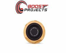 Mishimoto Oil FIller Cap - Gold For Subaru MMOFC-SUB-GD