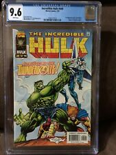 Incredible Hulk #449  CGC 9.6  White pages  1st Thunderbolts