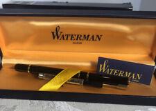 New Waterman Laureate Pen in the box New  fountain pen w/medium nib France Stamp