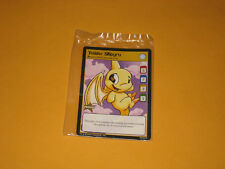 NEOPETS Sealed 2004 Promo Trading Card Yellow Shoyra New In Package
