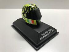MINICHAMPS VALENTINO ROSSI AGV HELMET 1/8 YAMAHA CASCO GP MUGELLO 2016 398160086