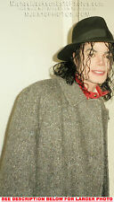 MICHAEL JACKSON 1993 TWEED COAT (1) RARE  PHOTO