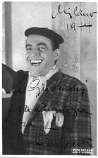 foto CON AUTOGRAFO ORIGINALE,MILANO 1944,CARLO DAPPORTO,RIVISTA AVANSPETTACOLO