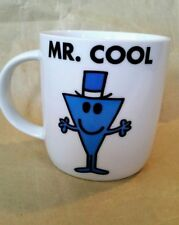 Mr Men Coffee Chocolate Tea Mug Cup Mr Cool Exc. Condition Collectable