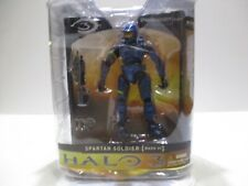 HALO 3 SERIES 1  SPARTAN SOLDIER MARK VI BLUE VARIANT