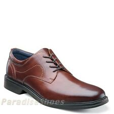 Nunn Bush Columbus Brown Leather Lightweight Casuale Shoes 84571-200