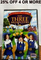 NEW!Classic Tales For Children-The Three Musketeers (DVD, 2009, Canadian,Eng/Fr)