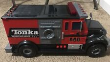 "Tonka Security and Savings Truck Bank Sound Lights 15"" 2009 Hasbro Toy"