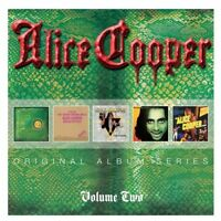 ALICE COOPER Vol 2 5CD NEW Billion Dollar/Muscle/Welcome To My Nightmare/Hell