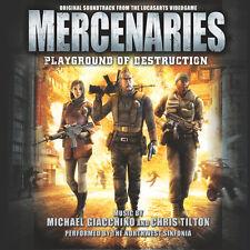 Mercenaries Videogame Soundtrack Autographed by Michael Giacchino & Chris Tilton