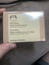 The Body Shop Natural Facial Blotting Tissues 65 sheets Sealed Package