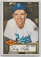 Andy Pafko 1952 Topps  #1 Nice!