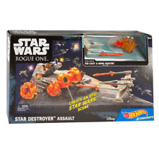 Hot Wheels Star Wars Toys Rogue One Star Destroyer Space Play Set X-Wing Kids
