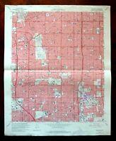 Inglewood California Vintage Original USGS Topographic Map 1972 Los Angeles Topo