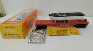 LIONEL 6501 FLAT W/JET BOAT