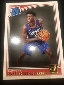 2018-19 Donruss #162 Shai Gilgeous-Alexander RR RC Rated Rookie HOT INVEST OKC🔥