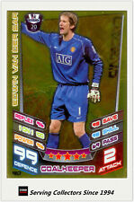 2012-13 Match Attax Legend Foil Card #462 Edwin Van Der Sar (M. United)