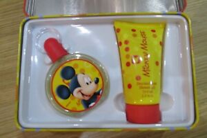 Disney Mickey Mouse Fragrance And Shower Gel New