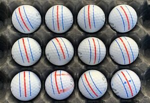 12 CALLAWAY ERC SOFT, TRIPLE TRACK and CHROME SOFT GOLF BALLS. See Photos