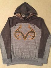 REALTREE XTRA Camo BUCK deer HUNTER Hunting MEN'S New Jacket Hoodie Sweat SHIRT