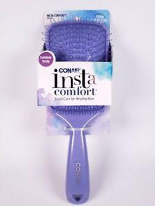 Conair Insta Comfort Scalp Exfoliate Hair Care Brush 86733 Purple Spa