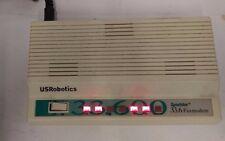 US Robotics Sportster 33.6K External Fax Modem w/ AC Adapter