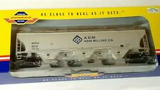 Athearn Genesis G4276 ADM Milling Co Trinity 1-Course Covered Hopper, with Box