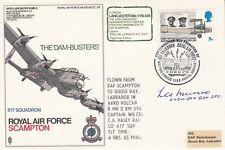 RAF Scampton 617 Sqn  Dam Busters Flown Signed Les Munro  Dambuster pilot