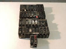 Lot Of Circuit Breakers Various Brands, Poles, Amps