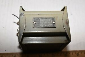 SOLA  ELECTRIC filament  TRANSFORMER 351073 tested and working