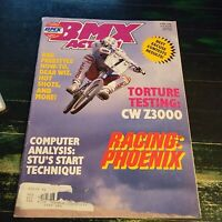 BMX Action Magazine JUNE 1985 Haro/CW/Redline/GT/Z3000/Wind Styler/Hutch/Huffy