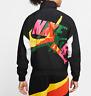 Nike Jordan Jumpman Classics Men Jacket,  CV7418-010, Black/White/Amarillo, S