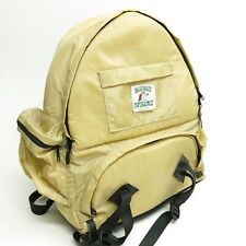 Vintage 70's Ultimate Experience Tan Nylon Backpack Padded Camera Bag USA
