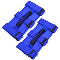 Roll Bar Grab Handle Handles Blue (1 PAIR) fit for Jeep Wrangler CJ YJ TJ JK JL