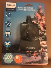 Philips Dusk to Dawn Countdown Timer Outdoor. New. Free Shipping