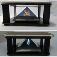 """Universal 3D Holographic Hologram Display Stand Projector for 3.5-6"""" Smart Phone"""