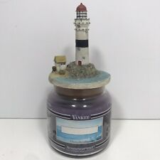Yankee Candle Purple Seaside Holiday 14.5 oz  Housewarmer with lighthouse top