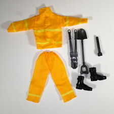 Ken OOAK Outfit Construction Worker Fashion Barbie Doll Tools Shovel Boots